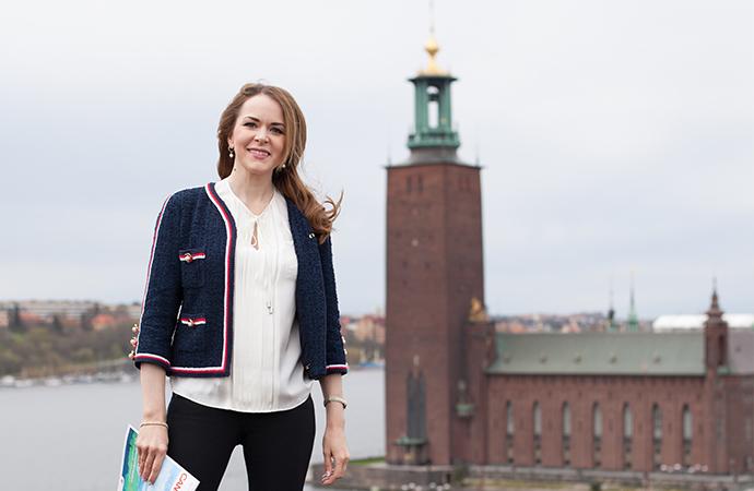 Monika Erlandsson, vår nya kansliveterinär