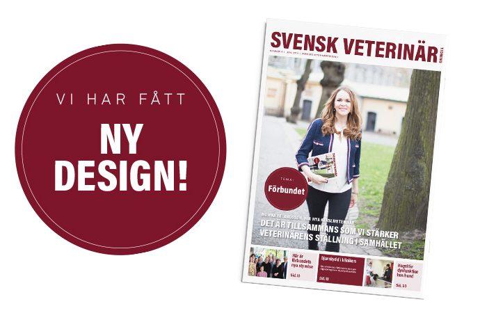 Svensk  Veterinärtidning har fått en ny form