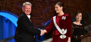 Ulf Magnusson har tilldelats KSLA:s A.W. Bergstens pris