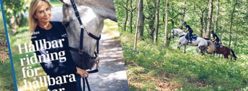 """""""Hållbar ridning för hållbara hästar"""" – ny gratis inspirationskälla till alla ryttare"""