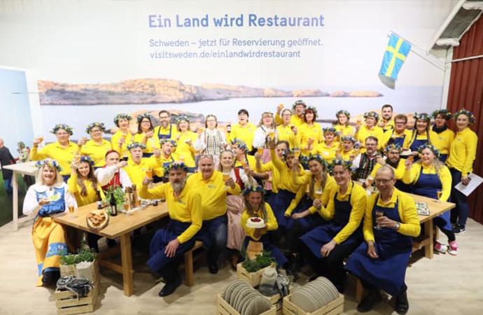Svensk djurvälfärd imponerade under Grüne Woche