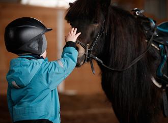 Natur och djur kan ge goda förutsättningar för barn med autism