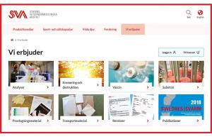 SVA lanserar ny e-handel